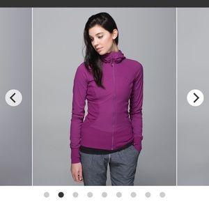 Lululemon In flux jacket size 6 reversible